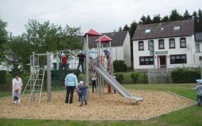 Spielplatzeröffnung 2012