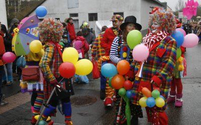 Bilder vom Karnevalsumzug 2020