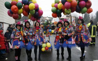 Bilder vom Karnevalsumzug 2019