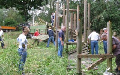 Spielplatzabriss 2010
